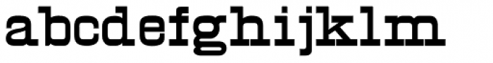 Egyptian Two Font LOWERCASE