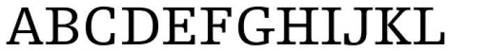 Egyptienne F 55 Roman Font UPPERCASE
