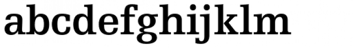 Egyptienne F 65 Bold Font LOWERCASE