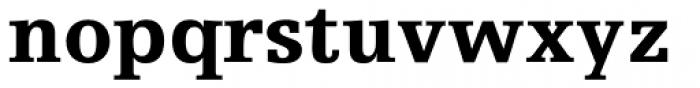 Egyptienne FLT Std Black Font LOWERCASE