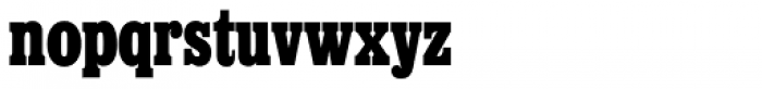 Egyptienne SH Bold Cond Font LOWERCASE