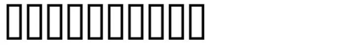 Ehrhardt MT SemiBold Italic Exp Font OTHER CHARS