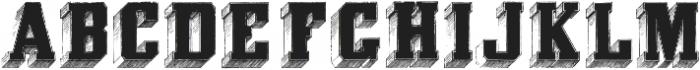 Eiger ttf (400) Font UPPERCASE