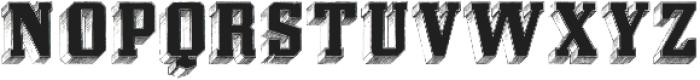 Eiger ttf (400) Font LOWERCASE