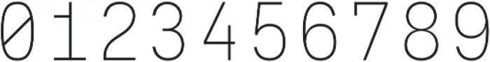 Eingrantch Mono Light otf (300) Font OTHER CHARS