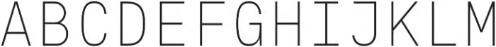 Eingrantch Mono Light otf (300) Font UPPERCASE