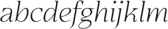 Eirlys otf (300) Font LOWERCASE