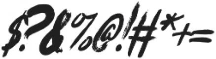 Eisley Italic otf (400) Font OTHER CHARS