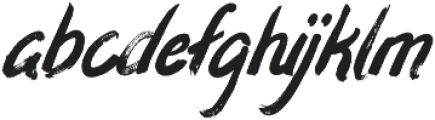 Eisley Italic otf (400) Font LOWERCASE
