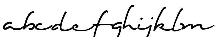 Eight Fifteen Font LOWERCASE