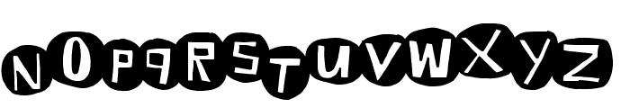EightBaller Font LOWERCASE