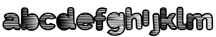 EightiesShades Font LOWERCASE