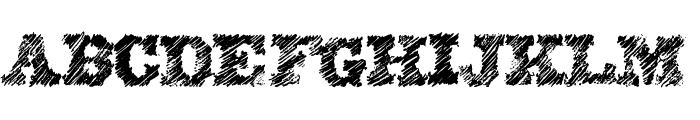 EightyOne Font LOWERCASE