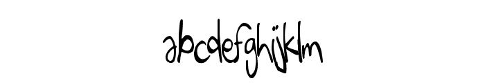 EigthGrade Font LOWERCASE