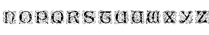 Eileen Caps Black Font LOWERCASE