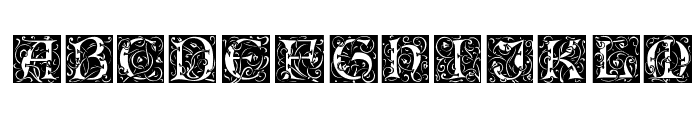 Eileen Caps Regular Font UPPERCASE