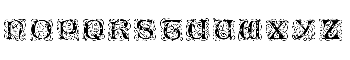 EileenCaps-Black Font UPPERCASE