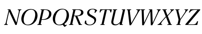 EinsteinOpti-Italic Font UPPERCASE