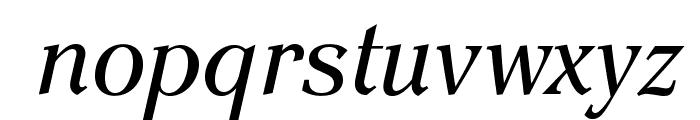 EinsteinOpti-Italic Font LOWERCASE