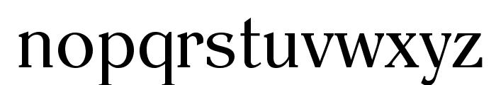 EinsteinRomanOpti Font LOWERCASE