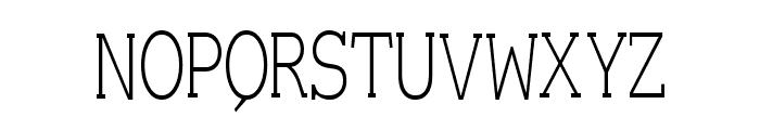Einzig Serif Font UPPERCASE