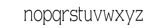 Einzig Serif Font LOWERCASE