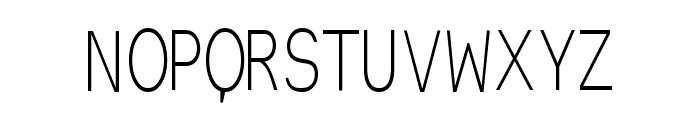 EinzigSans Font UPPERCASE