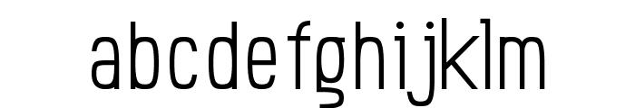 Einzine Font LOWERCASE