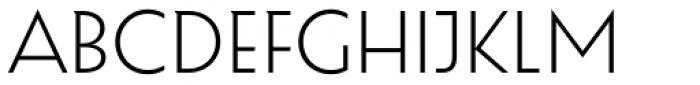 Eileen Light Font UPPERCASE