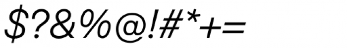 Eina 01 Regular Italic Font OTHER CHARS