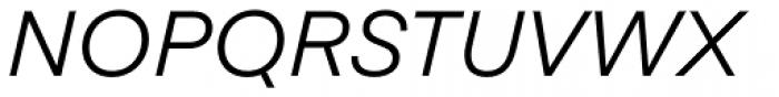 Eina 01 Regular Italic Font UPPERCASE