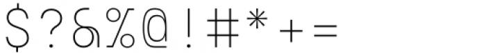 Eingrantch Mono Light Font OTHER CHARS