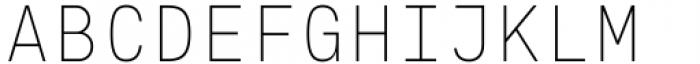 Eingrantch Mono Light Font UPPERCASE