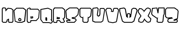 Ejaculator Font UPPERCASE