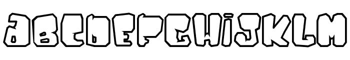 Ejaculator Font LOWERCASE