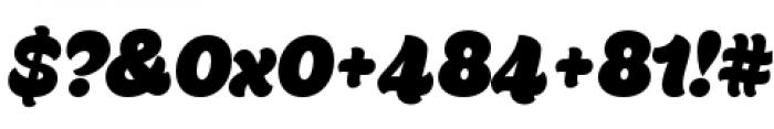 Ekamai Regular Font OTHER CHARS