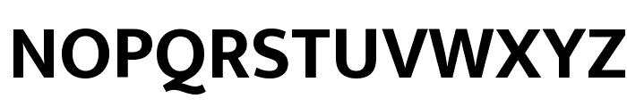 Ek Mukta Bold Font UPPERCASE