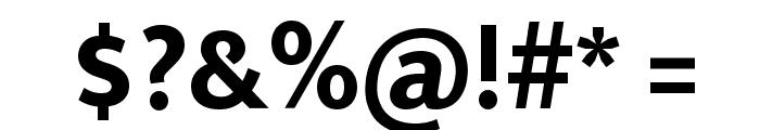 Ek Mukta ExtraBold Font OTHER CHARS
