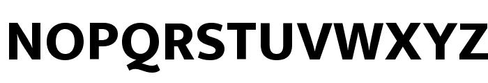 Ek Mukta ExtraBold Font UPPERCASE