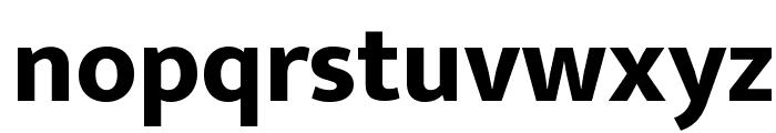 Ek Mukta ExtraBold Font LOWERCASE