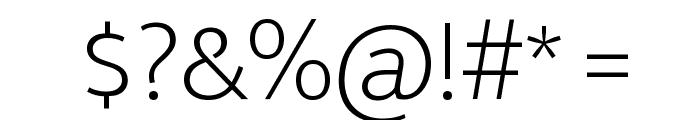 Ek Mukta ExtraLight Font OTHER CHARS