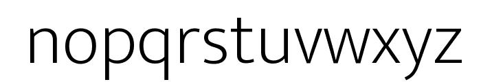 Ek Mukta ExtraLight Font LOWERCASE