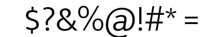 Ek Mukta Light Font OTHER CHARS