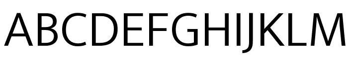 Ek Mukta Light Font UPPERCASE