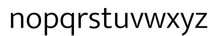 Ek Mukta Light Font LOWERCASE