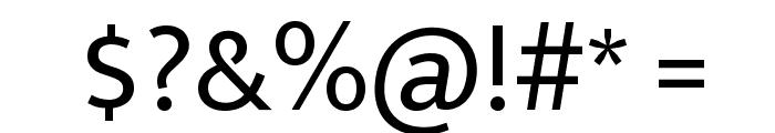 Ek Mukta Regular Font OTHER CHARS