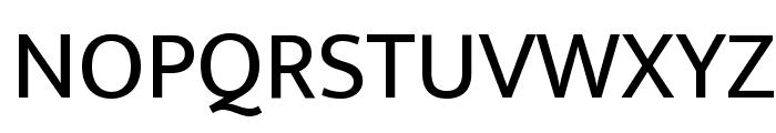 Ek Mukta Regular Font UPPERCASE