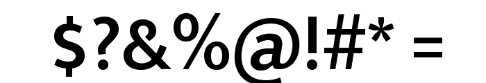 Ek Mukta SemiBold Font OTHER CHARS