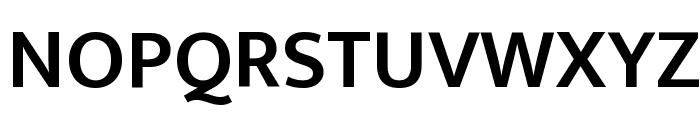 Ek Mukta SemiBold Font UPPERCASE