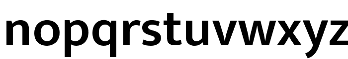 Ek Mukta SemiBold Font LOWERCASE